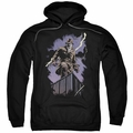 Watchmen pull-over hoodie Rorschach Night adult black