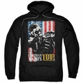 Watchmen pull-over hoodie The Comedian Wants You adult black