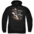 Watchmen pull-over hoodie Whisper adult black