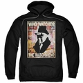 Watchmen pull-over hoodie Who Watches adult black