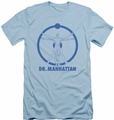 Watchmen slim-fit t-shirt Dr Manhattan mens light blue