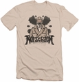 Watchmen slim-fit t-shirt Ink Blot mens cream