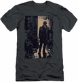 Watchmen slim-fit t-shirt Light mens charcoal