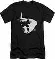 Watchmen slim-fit t-shirt Mask And Symbol mens black