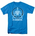 Watchmen t-shirt Dr. Manhattan mens turquoise