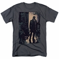 Watchmen t-shirt Light mens charcoal