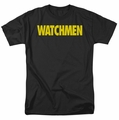 Watchmen t-shirt Logo mens black