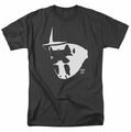 Watchmen t-shirt Mask And Symbol mens black