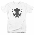 Watchmen t-shirt Rorschach Face mens white