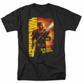 Watchmen t-shirt Comedian Smoke Em mens black