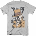 Watchmen t-shirt Splatter mens silver