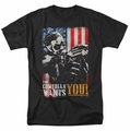 Watchmen t-shirt The Comedian Wants You mens black