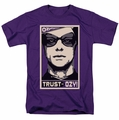 Watchmen t-shirt Trust In Ozy mens purple