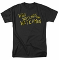Watchmen t-shirt Who Watches mens black