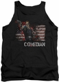 Watchmen tank top Comedian mens black