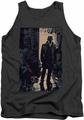 Watchmen tank top Light mens charcoal