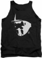 Watchmen tank top Mask And Symbol mens black