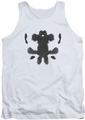 Watchmen tank top Rorschach Face mens white