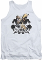 Watchmen tank top Rorschach mens white