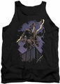 Watchmen tank top Rorschach Night mens black