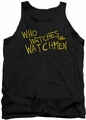 Watchmen tank top Who Watches mens black