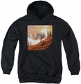 Weezer youth teen hoodie Alright In The End black