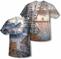 Wildlife mens sublimation t-shirts