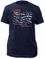 Wipers youth of america fitted jersey tee mens navy pre-order