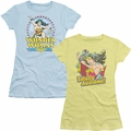 Wonder Woman Juniors t-shirts