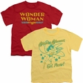 Wonder Woman Teen Youth t-shirts