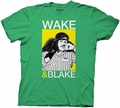 Workaholics Wake and Blake mens t-shirt