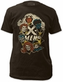 X-Men Group Fitted Jersey t-shirt