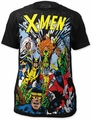 X-Men The Gang big print subway tee black