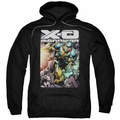 X-O Manowar pull-over hoodie Pit adult black