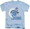 Zatanna kids t-shirt Pose light blue