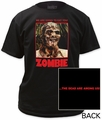 Zombie We Are Going To Eat You! (Color) Adult t-shirt pre-order
