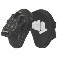 Leather MMA Coaching Mitt