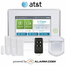 2GIG-KIT311 - GC3 Wireless Cellular Security System Kit (w/AT&T GSM Alarm.com Communicator)