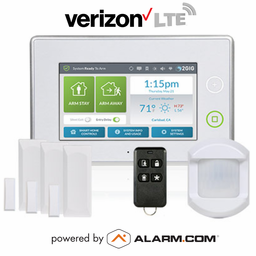 2GIG-KIT311 - GC3 Wireless Cellular Security System Kit (w/Verizon LTE Alarm.com Communicator)