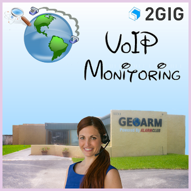 2GIG VoIP Alarm Monitoring Service