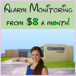 $8 Alarm Monitoring Services