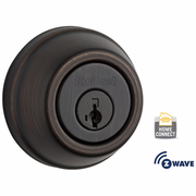 99100-063 - Kwikset Z-Wave SmartCode Wireless Signature-Series Deadbolt (Venetian Bronze)