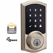 99160-002 - Kwikset Z-Wave Wireless Touchscreen Deadbolt (Satin Nickel)