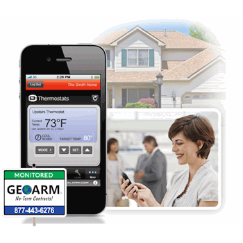 Alarm.com Residential Alarm Monitoring Services