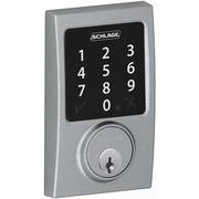 BE468CEN626 - Schlage Z-Wave Century Deadbolt (Satin Chrome)
