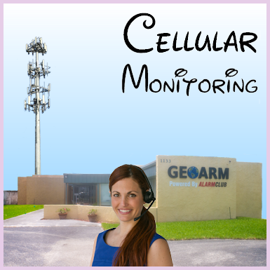 Cellular Interactive Alarm Monitoring