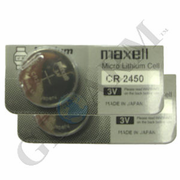 CR2450 - Coin Cell 3V Lithium Alarm Battery (2-Pack)