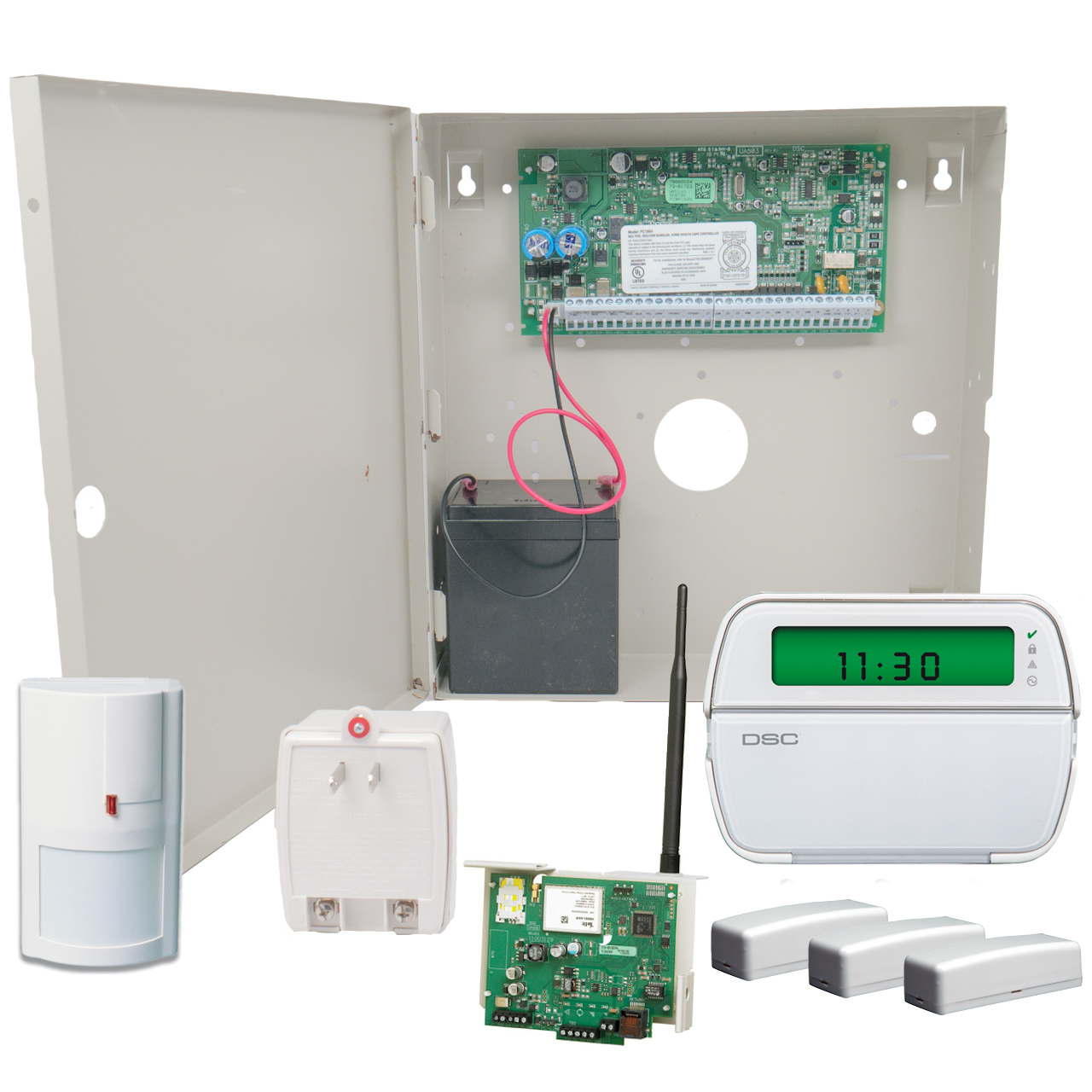 Hybrid Wired And Wireless Security System - WIRE Center •