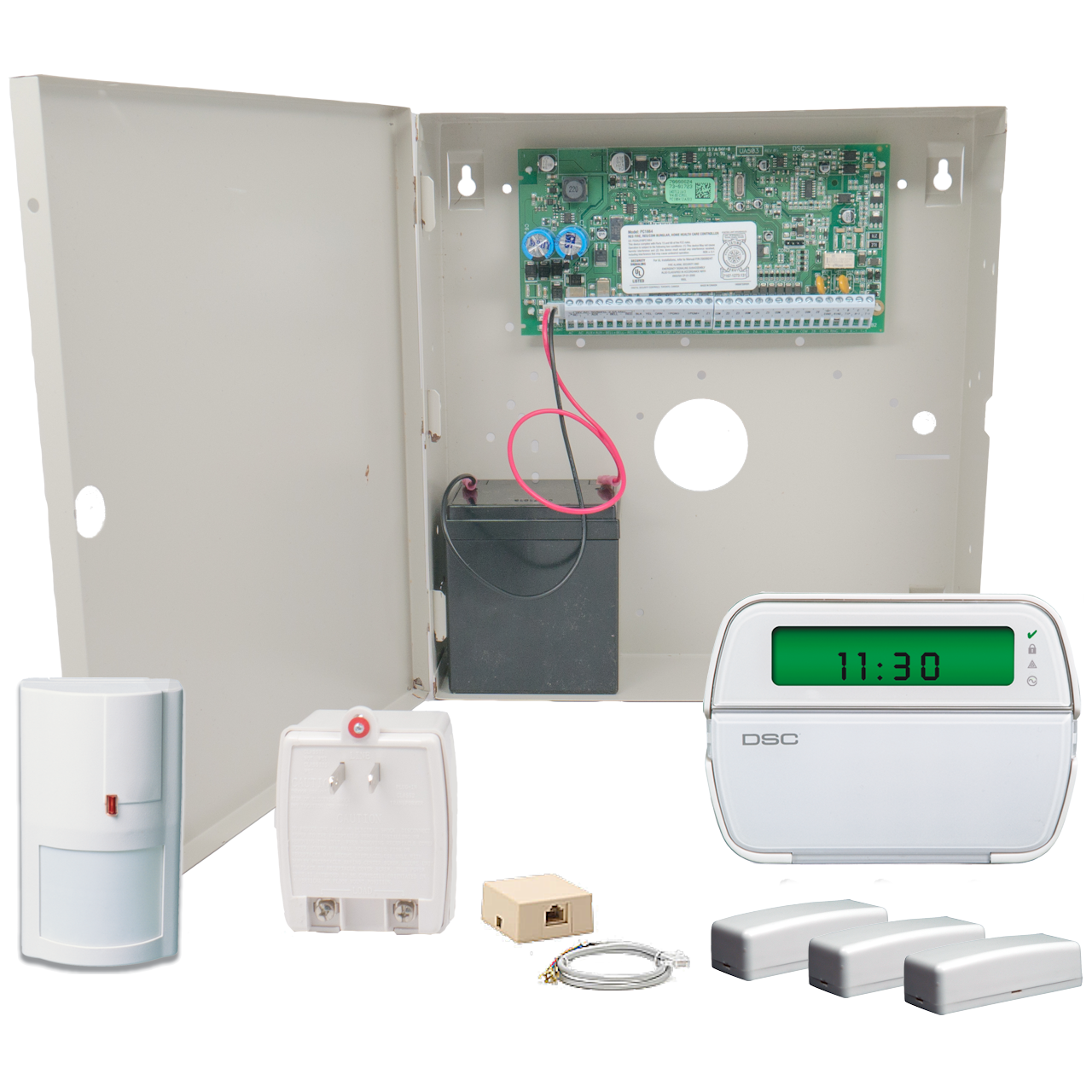 DSC PowerSeries PC1616 Hybrid Alarm System - GEOARM Security