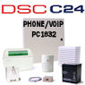 DSC PC1832 PowerSeries VoIP & Phone Line Hybrid Security System